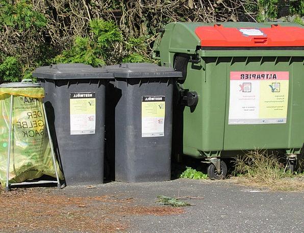 Garbage Trash Disposal Removal Waste Separation Wa