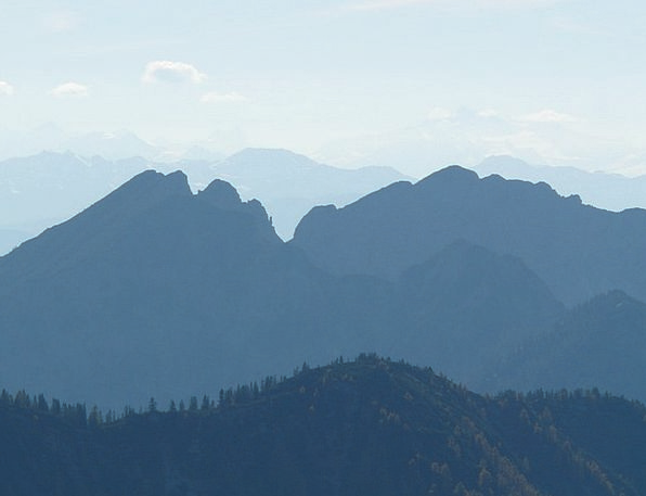 Mountain Crag Landscapes Crags Nature Back Light T