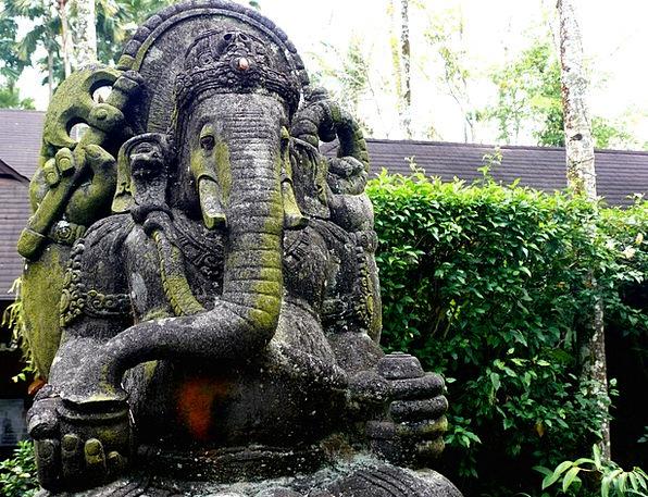 Ganesha Monster Religion Faith Elephant India Hind