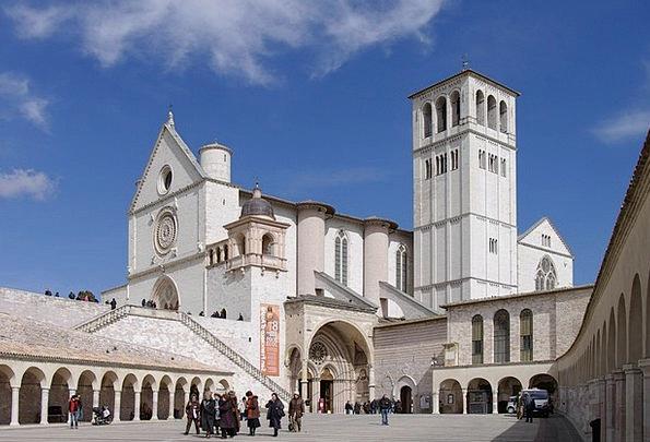 Basilica Church Ecclesiastical Francis Of Assisi T