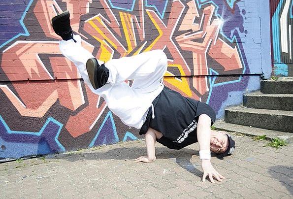 Dance Ball Form Breakdance Body