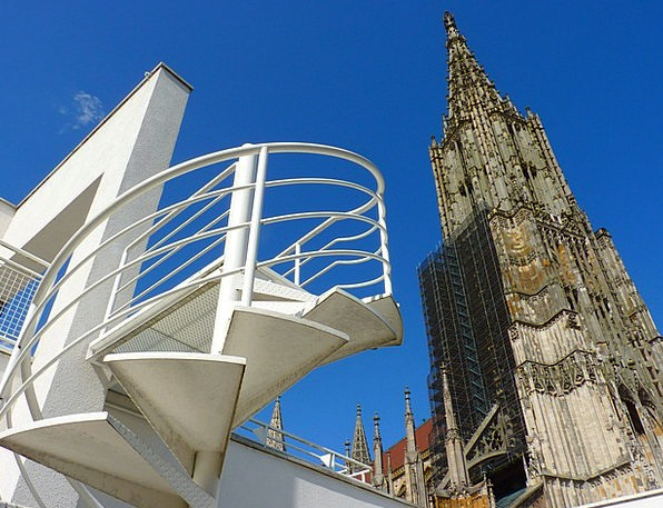 Ulm Cathedral Buildings Structure Architecture Chu