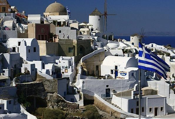 Santorini Vacation Travel Island Isle Greece Holid