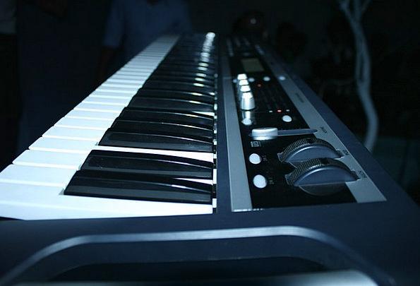 Piano Keyboard Melody Instruments Tools Music