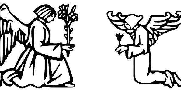 Angel Seraph Requesting Angelic Innocent Praying G