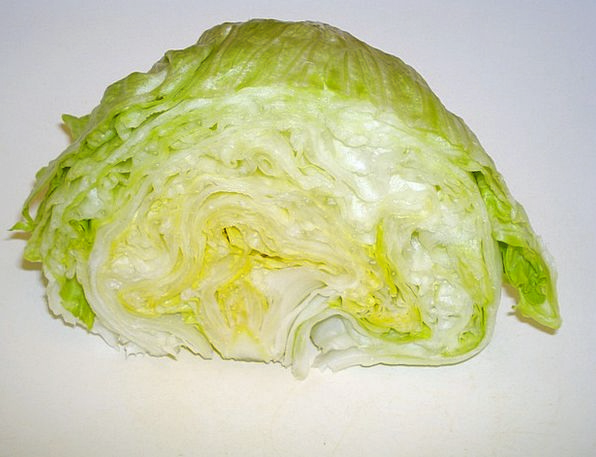 Head Of Lettuce Drink Food Iceberg Lettuce Salad V