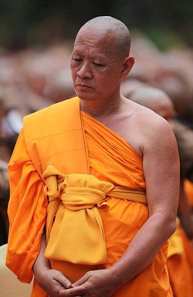 Monk Friar Meditate Contemplate Buddhist Thai Trad