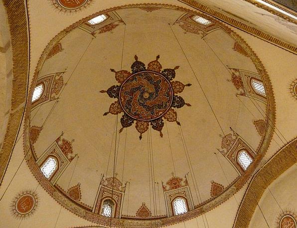 Mosque Mausoleum Tomb Konya Mevlana Rotunda Jalal
