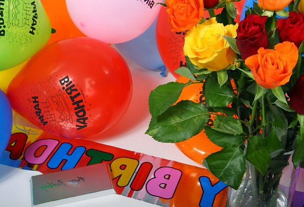 Birthday Birthdate Inflatables Bouquet Bunch Ballo