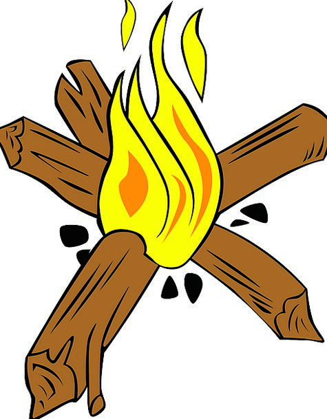 Campfire Passion Wood Timber Fire Burn Injury Free