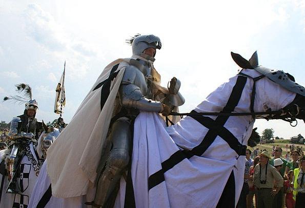Knight Cavalier On Horseback Mounted Grunwald