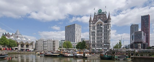 Rotterdam Buildings Architecture Old Port White Ho