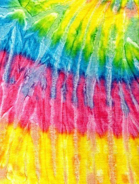 Tie Dye Pleasing Retro Period Groovy Fuchsia Vibra