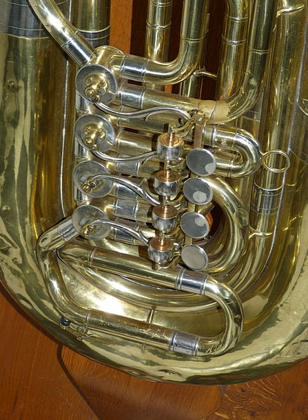 Tuba Regulators Music Melody Valves Instrument Too