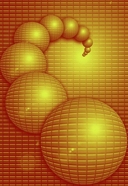 Ball Sphere Carroty Background Contextual Orange S