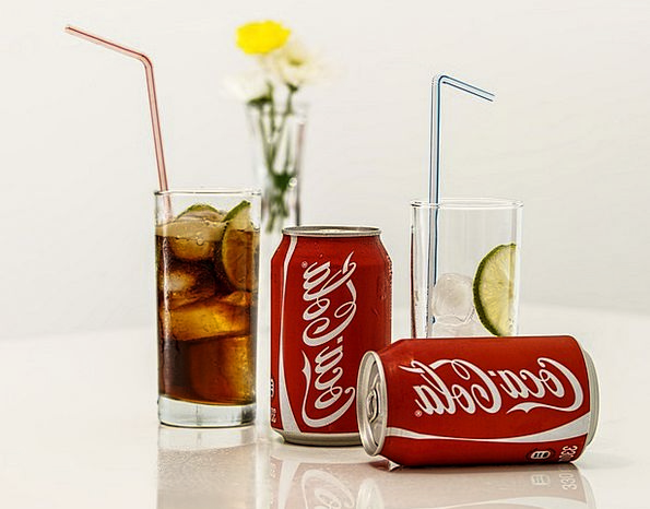 Coca Cola Beverage Soft Drink Cold Drink Ice Coke