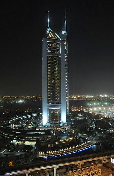 Dubai Buildings Architecture City Urban High Rise