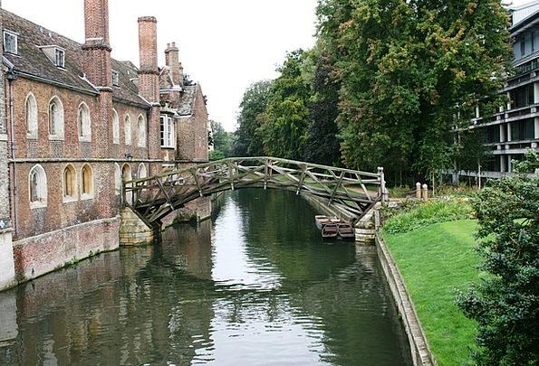 Mathematical Bridge Station Cambridge Channel Engl