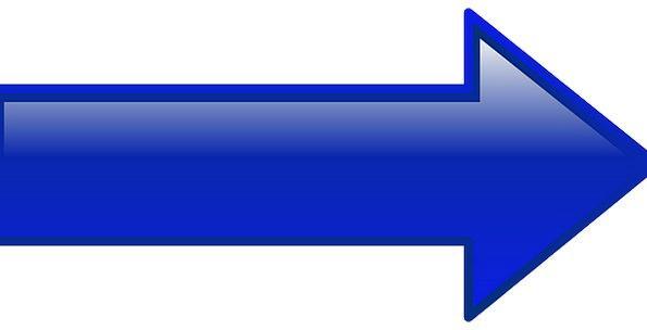 Arrow Missile Left-hand Blue Azure Left Leftward P
