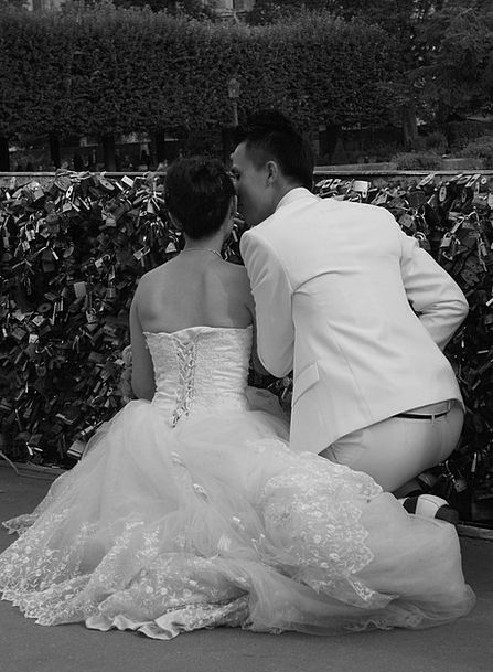 Love Darling Contentment Wedding Bridal Happiness