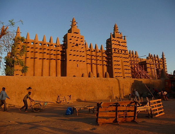Mosque Mud Mire Mali