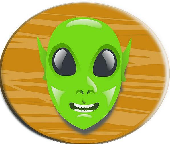 Alien Unfamiliar Skull Cartoon Animation Head Mons