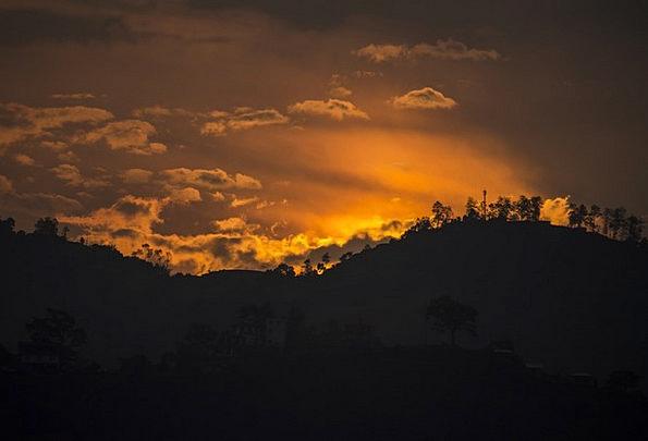 Mountains Crags Vacation Sundown Travel Clouds Vap
