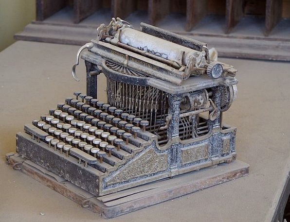 Old Typewriter Bodie Ghost Town Wild West Usa Type