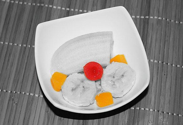 Fruit Bowl Drink Ovary Food Vitamins Fruit Banana