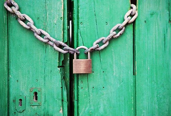 Padlock Entrance Locked Door Closed Shut Chain Pro  sc 1 st  PixCove & Padlock Entrance Locked Door Closed Shut Chain Protected ...