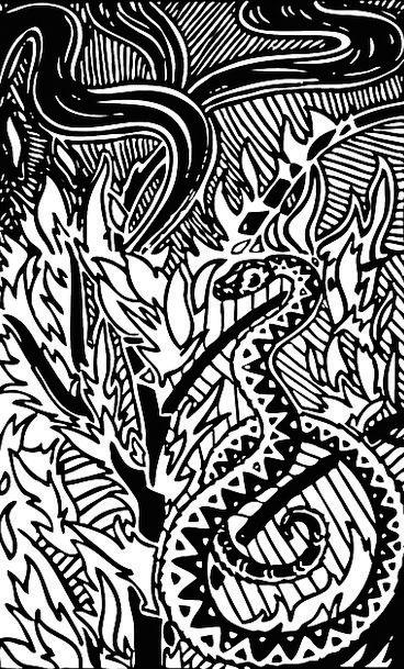 Python Landscapes Serpent Nature Tree Sapling Snak