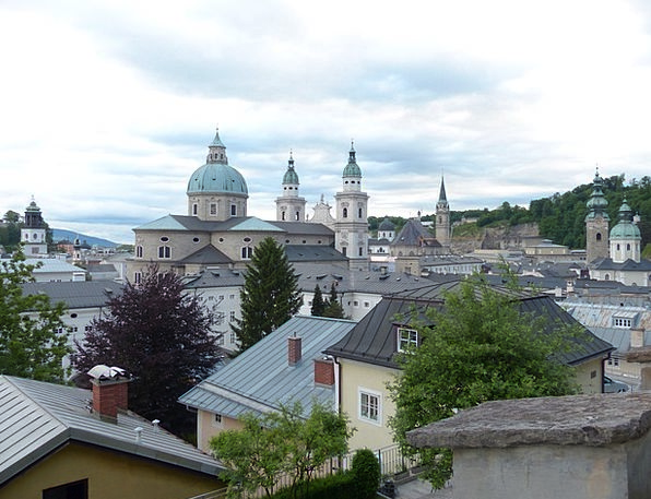 Salzburg Cathedral Cathedral Dom Virgil Roman Cath