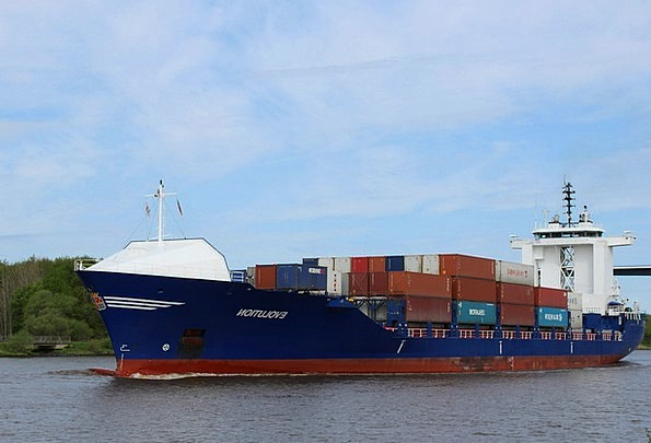 Container Ship Vessel Freighter Ship Container Amp