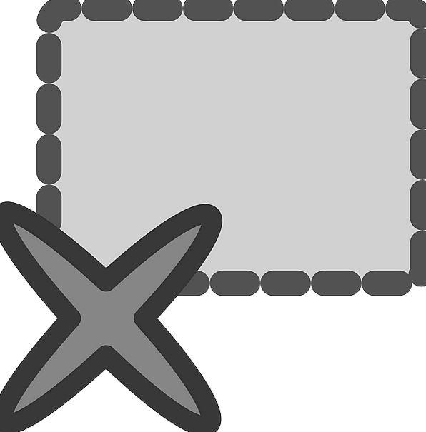 Delete Lockup Box Container Cell Cross Remove Elim