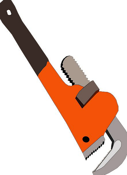 Wrench Tug Craft Adaptable Industry Plumbing Sanit