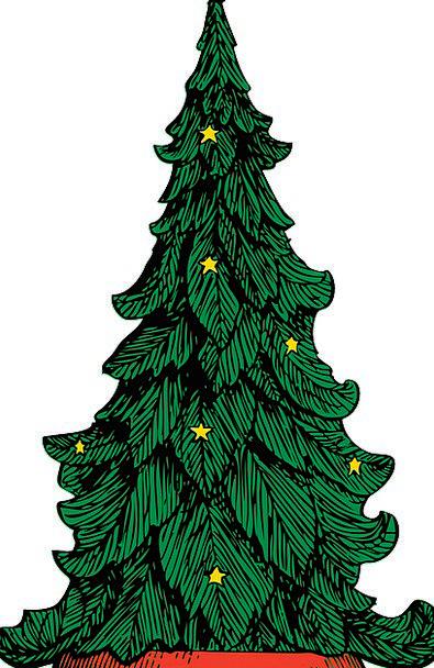 Christmas Sapling Xmas Tree Free Vector Graphics G