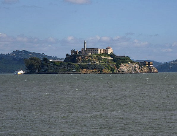 Alcatraz Buildings Custodial Architecture Island I