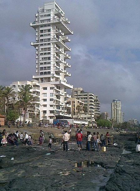 Sea Marine Rocky Stony Shore Coast Bandra Mumbai S