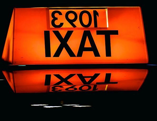 Taxi Cab Traffic Transportation Transport Conveyan