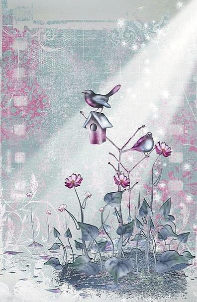 Bird Fowl Artwork Creation Digital Artwork Decorat