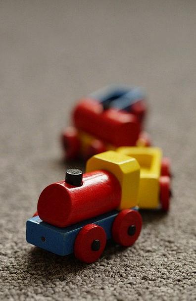 Railway Pullman Locomotive Train Colorful Interest