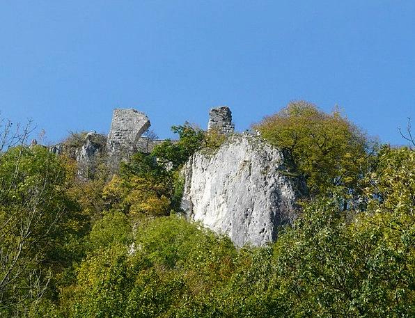 Ruin Hohengerhausen Devastation Castle Fortress Ru