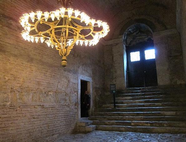 Igreja Luminária Luz Turkey Istanbul Hagia Sophia