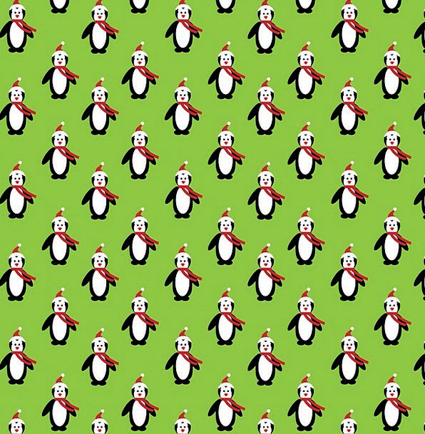Christmas Textures Backgrounds Penguins Penguin Ar
