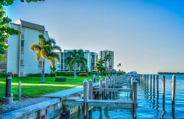 Marco Island Bight Coast Shore Gulf Florida Seasid