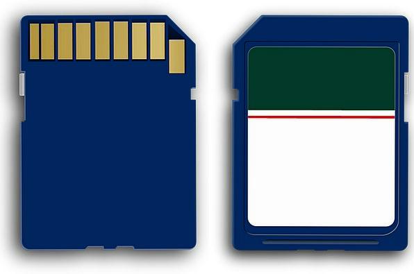 Sd Card Reminiscence Card Postcard Memory Camera B