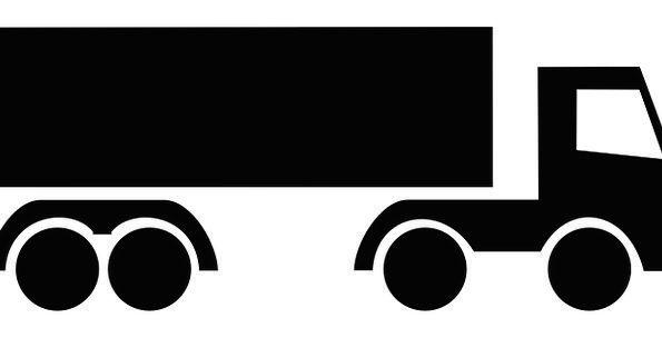 Truck Car Traffic Clip Transportation Freight Trai