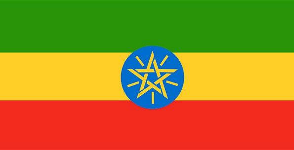 Ethiopia Standard National Nationwide Flag Unity S