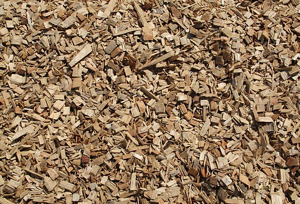 Wood Chips Crushed Wood Timber Ground Brown Chocol