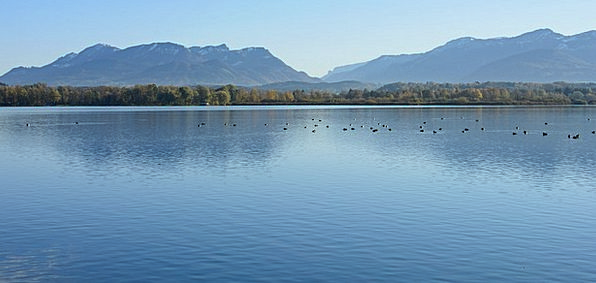 Chiemsee Landscapes Scenery Nature Nature Countrys